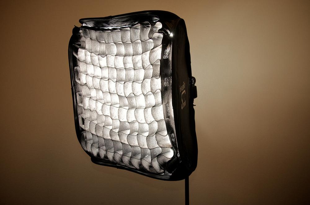 DIY Fabric Honeycomb Softbox Grid