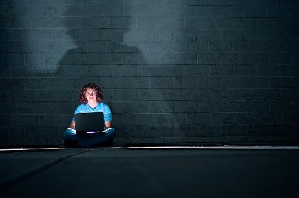 Linux nerd, hacker, server geek - David. FujiFilm X-E1, Fuji XF35mmF1.4R, ISO 200, f/1.4, 1/125s.