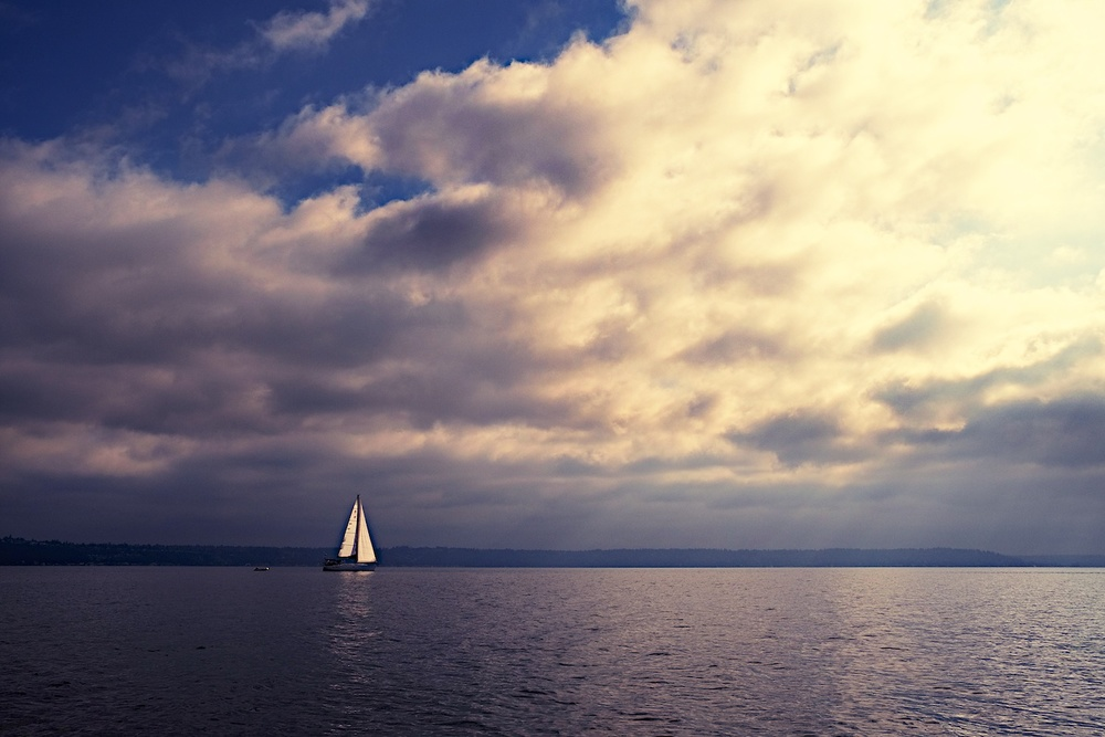 Smooth sailing. Tacoma, Washington - Fujifilm XE-1, 18-55mm @ 18mm, ISO 400, f/11, 1/1000.
