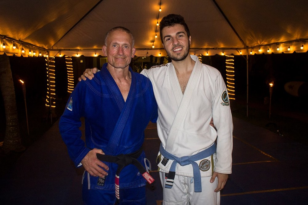 Steve Maxwell & I in El Salvador at his 'Jiu Jitsu for a Lifetime Camp'