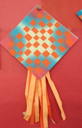 finished kite
