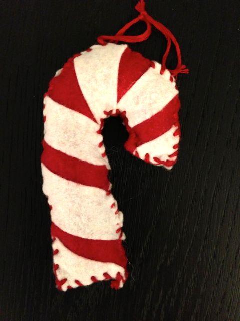 sewn ornament