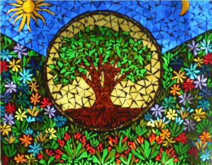Mosaic by nancy gilbert