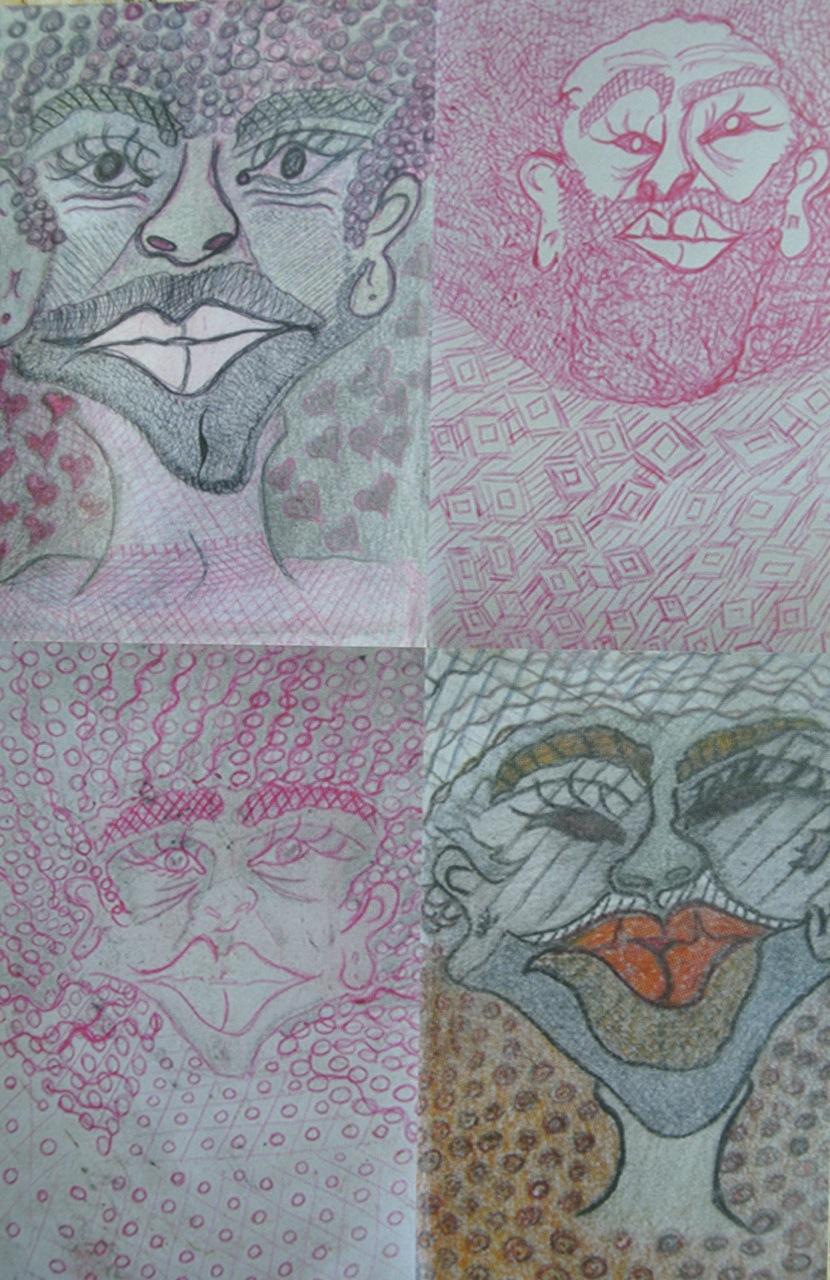 Invitation artwork by Wanda Ramirez