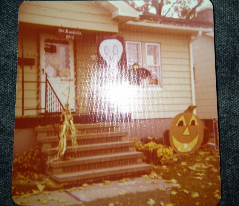 Family Halloween House Late 1970's