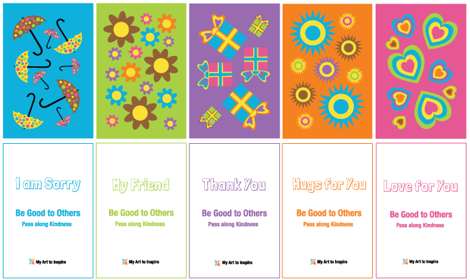 Kindness cards to Pass along