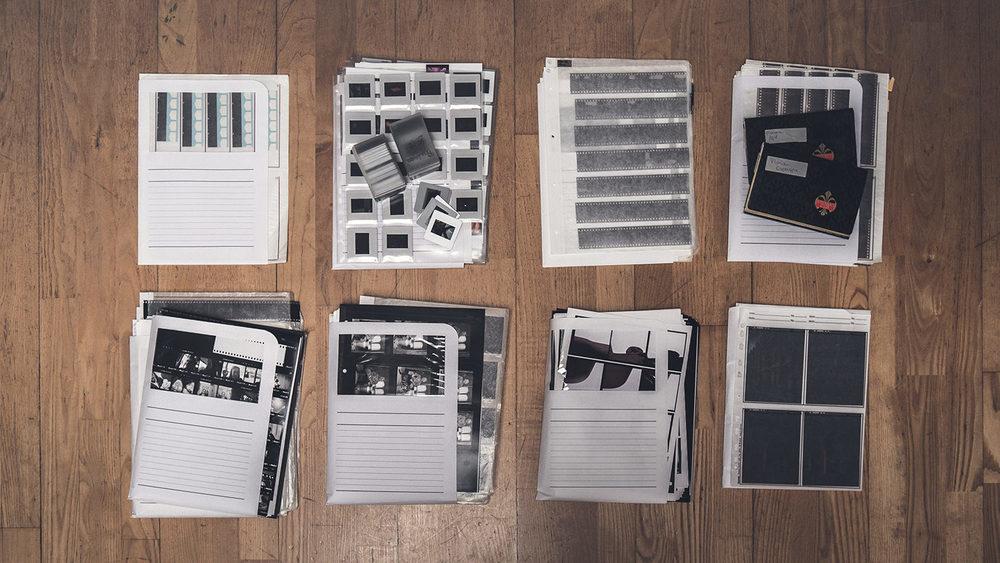 Archives photographiques argentiques (~1988-2009)