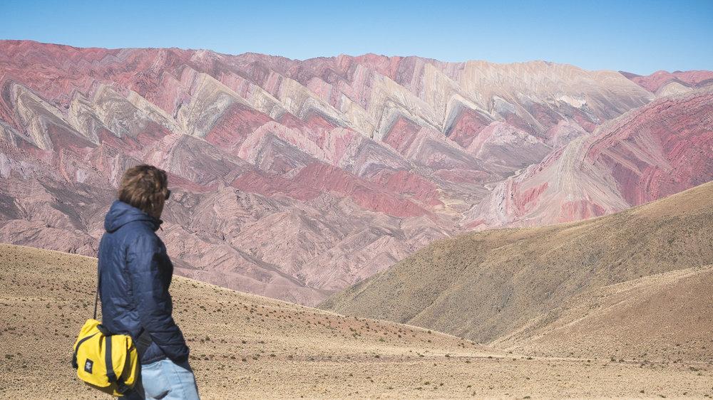 Cerro Hornocal, La montagne aux 14 couleurs  - Humahuaca, Argentine.