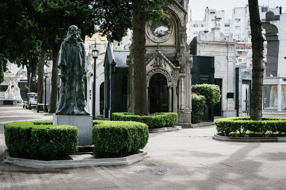 Cementerio Recoleta, Buenos Aires, Argentine.