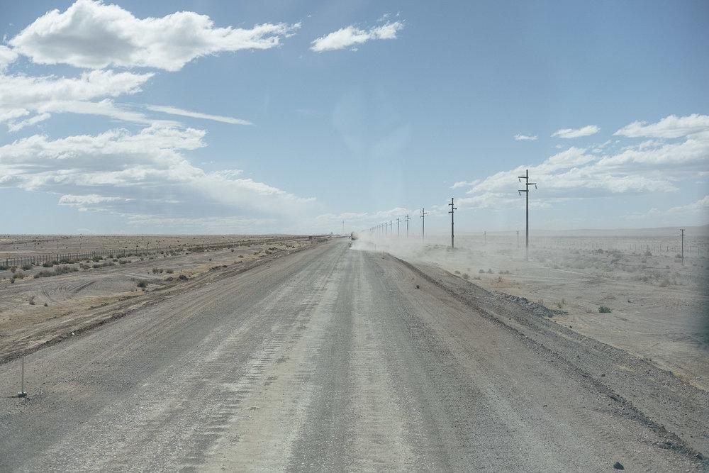 Sur la route de La Quiaca  - Argentine.