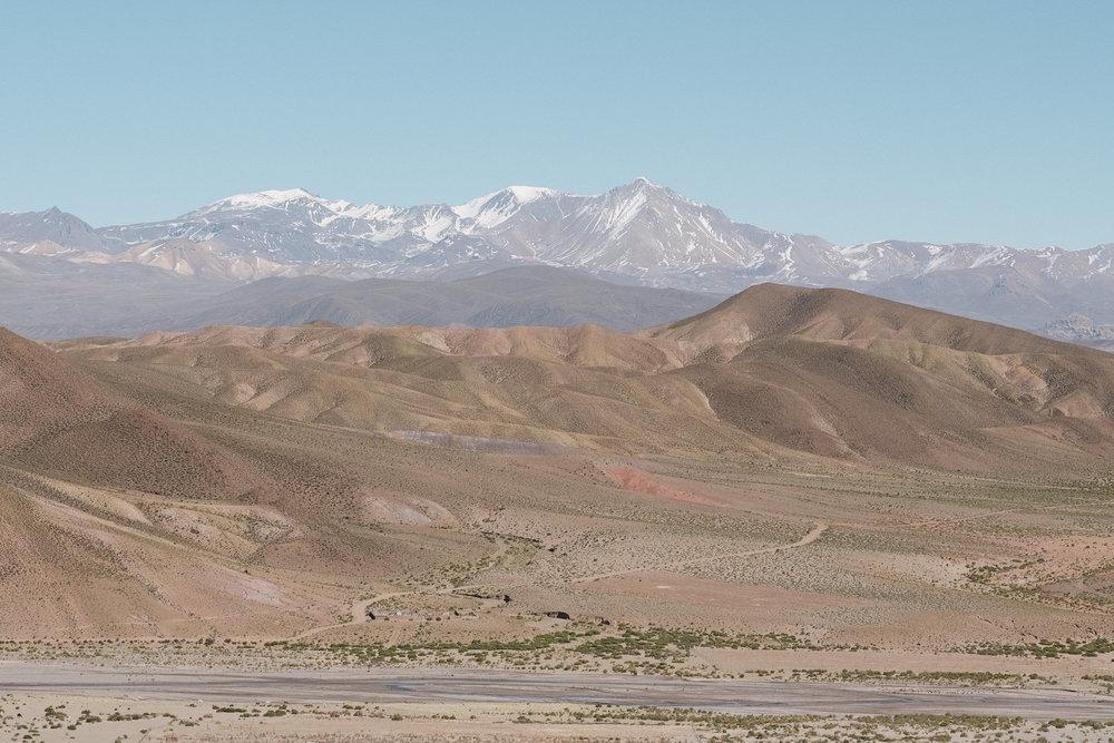 Sur la route de Uyuni  - Bolivie