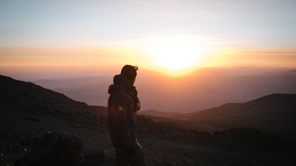 Volcan Chachani (6075m)  - Arequipa, Pérou.