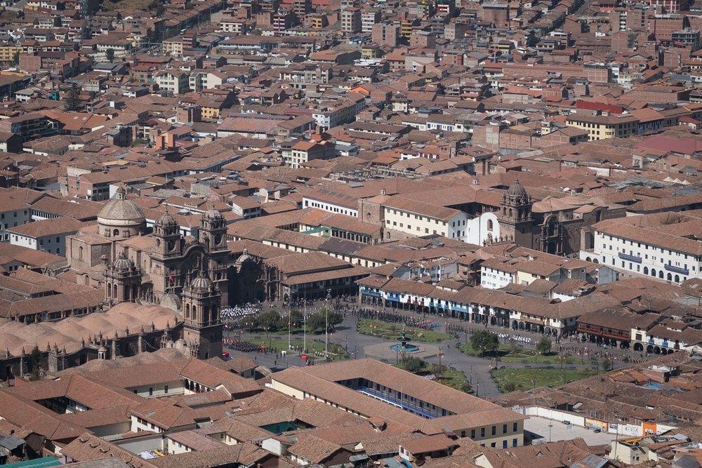 Plaza de armas  - Cusco, Pérou.