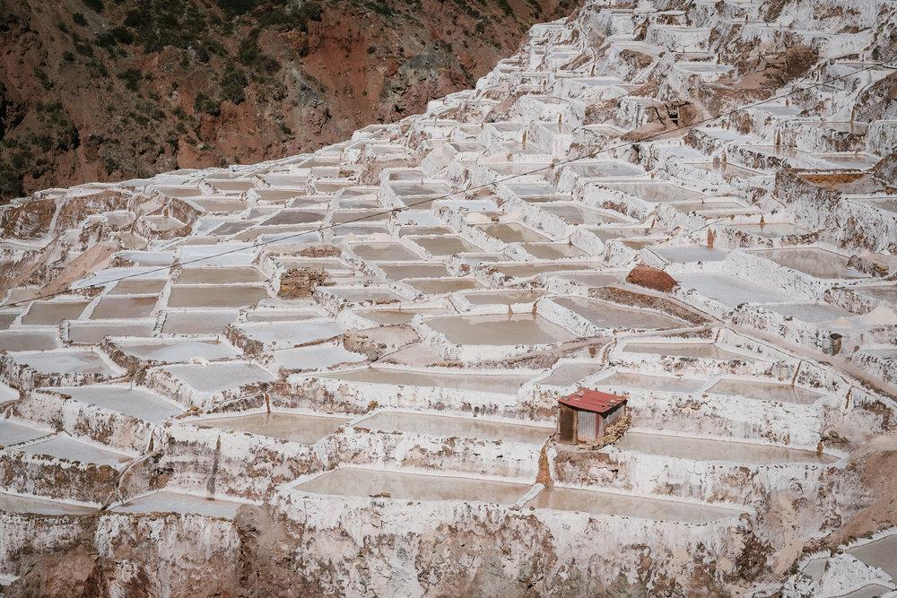 Las Salinas, Maras  - La Vallée Sacrée, Pérou