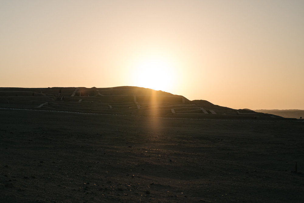 Cahuachi  - Nazca, Pérou.