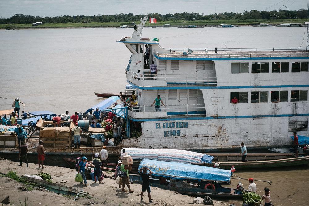 L'Amazone  - Santa Rosa, Pérou.