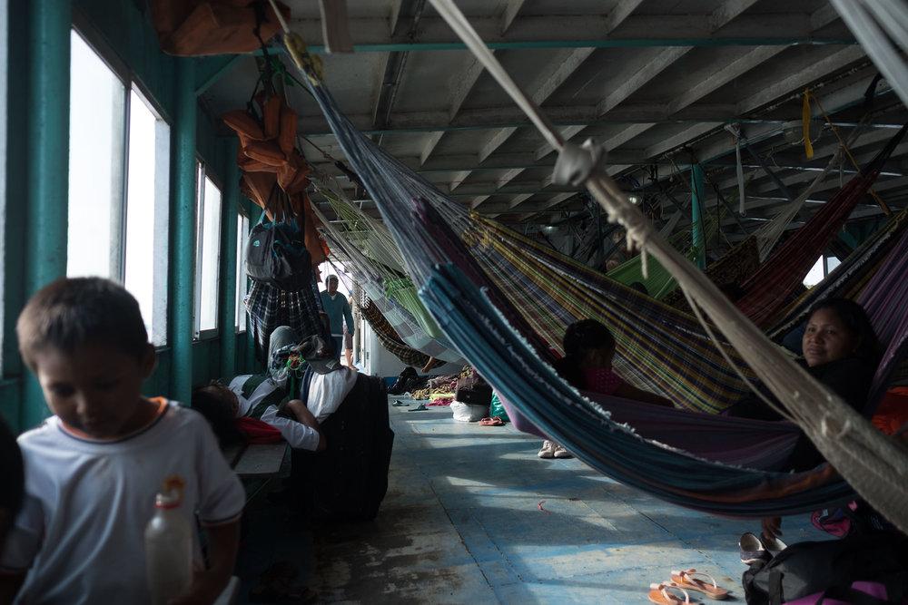 L'Amazone  - Iquitos, Pérou.