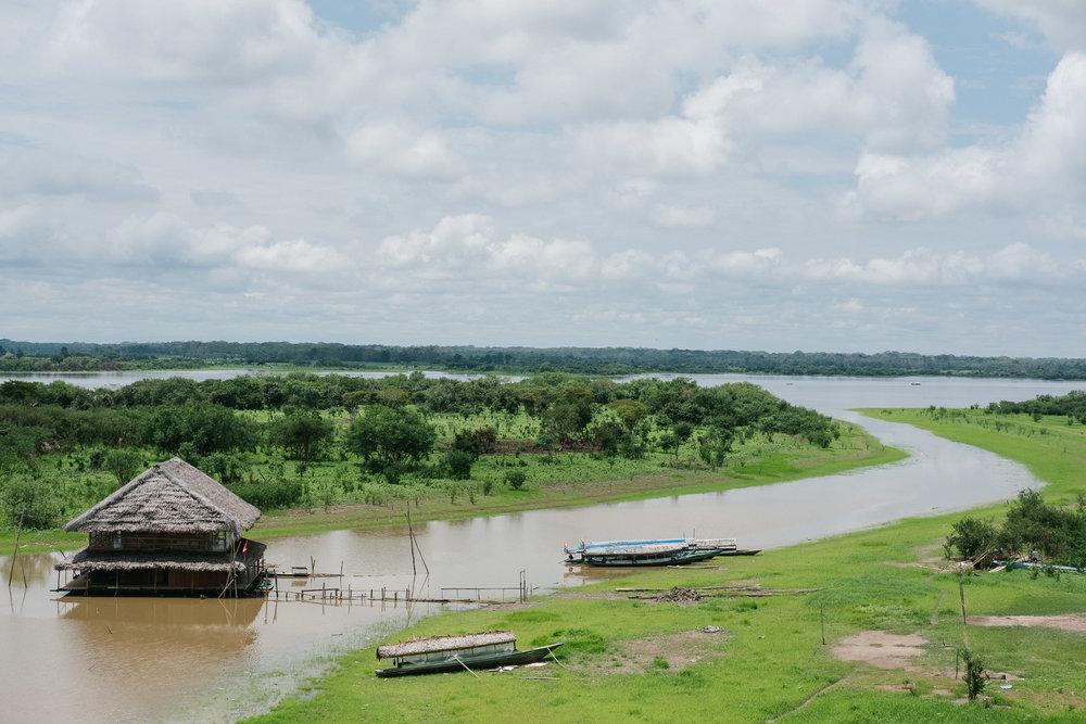 Le Malecón  - Iquitos, Pérou.