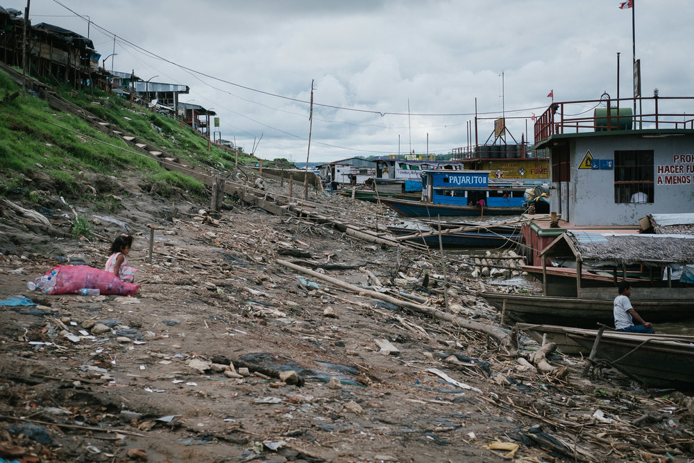 Zone portuaire  - Nauta, Pérou.