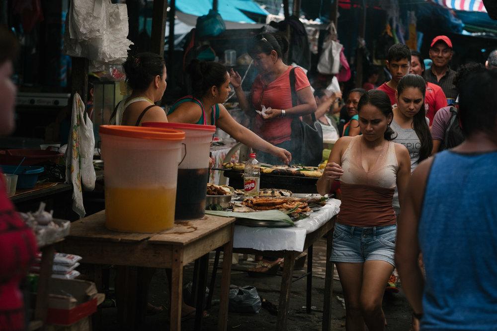 Marché de Belén  - Iquitos, Pérou.