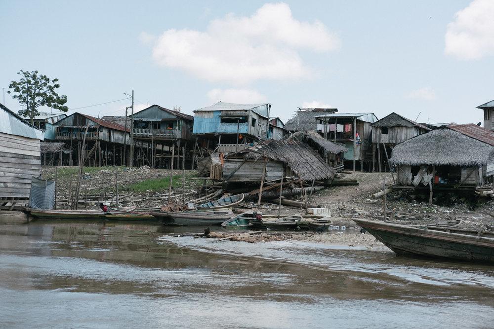 Belén  - Iquitos, Pérou.