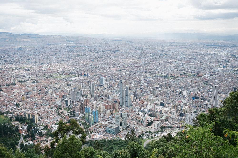 Monserrate  - Bogota, Colombie.