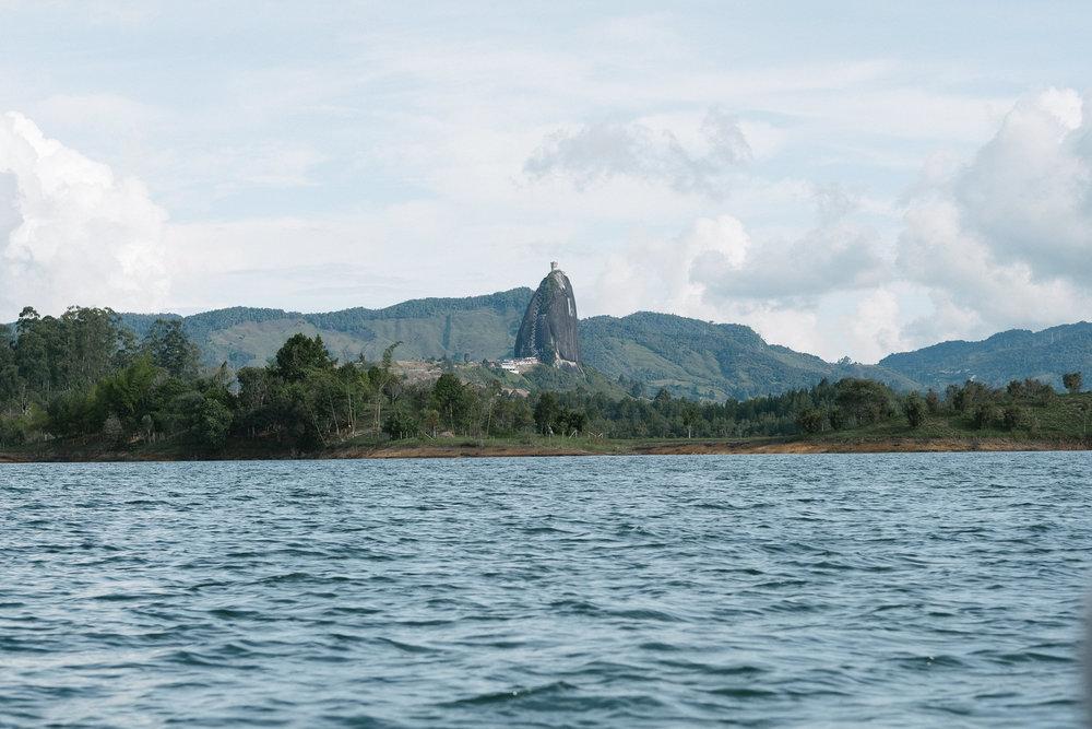 Piedra del Peñol  - Guatapé, Colombie.