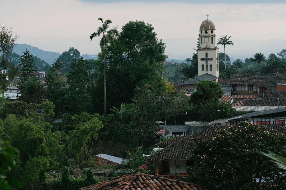 Mirador  - Salento, Colombie.