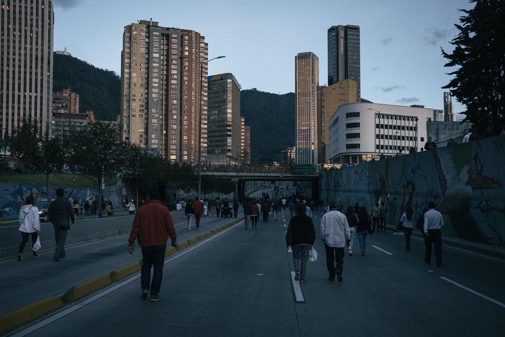 Visite du Pape  - Bogota, Colombie.