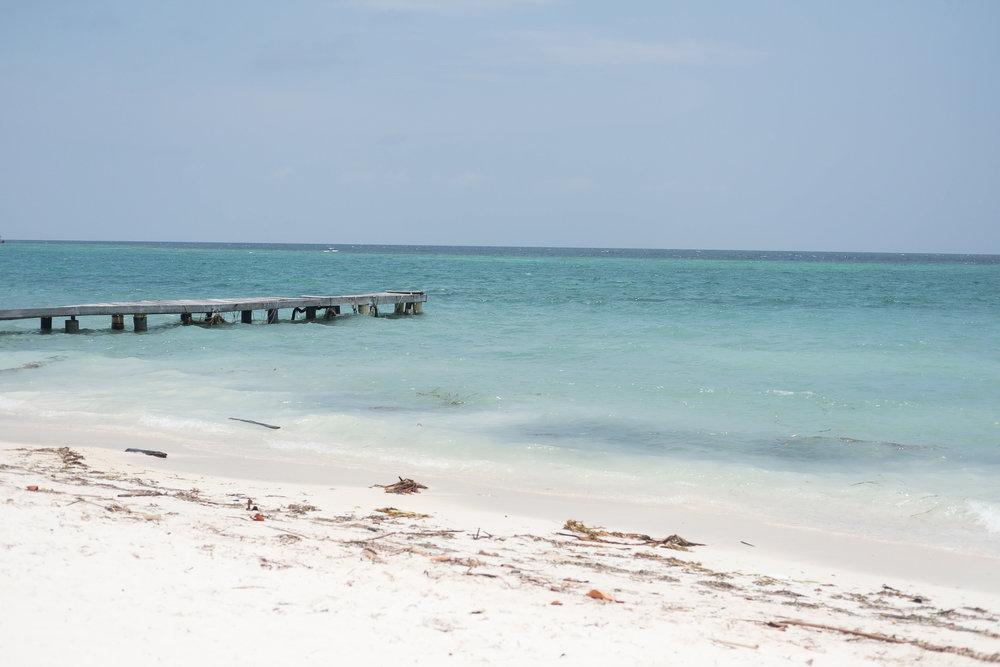 Playa Libre  - Isla Grande, Colombie.