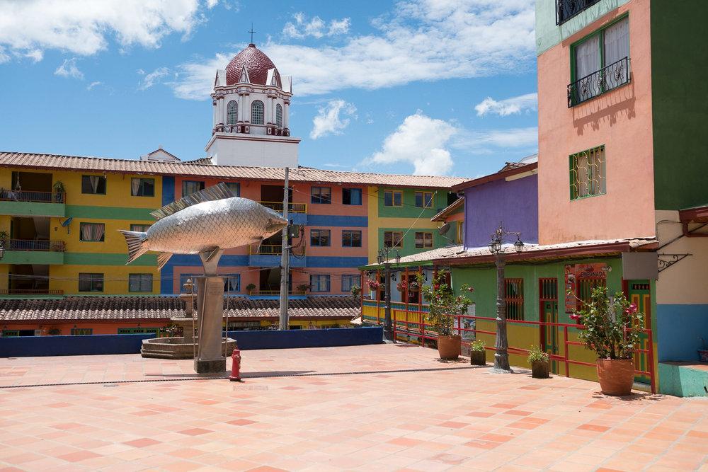 Guatapé  - Guatapé, Colombie.