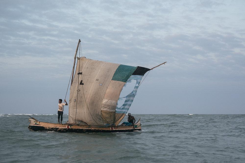En direction de Belo-Sur-Mer  - Morondava, Madagascar.