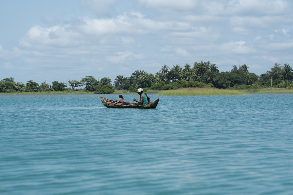 Vieux Port, Canal des Pangalanes  - Manakara, Madagascar.