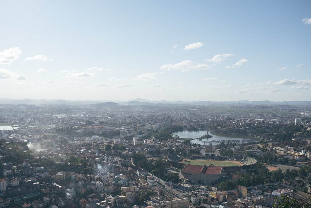 Rova  - Antananarivo, Madagascar.