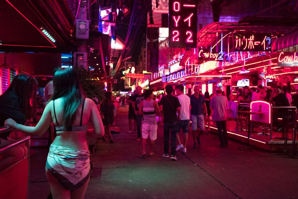 Soi Cowboy  - Bangkok, Thaïlande.