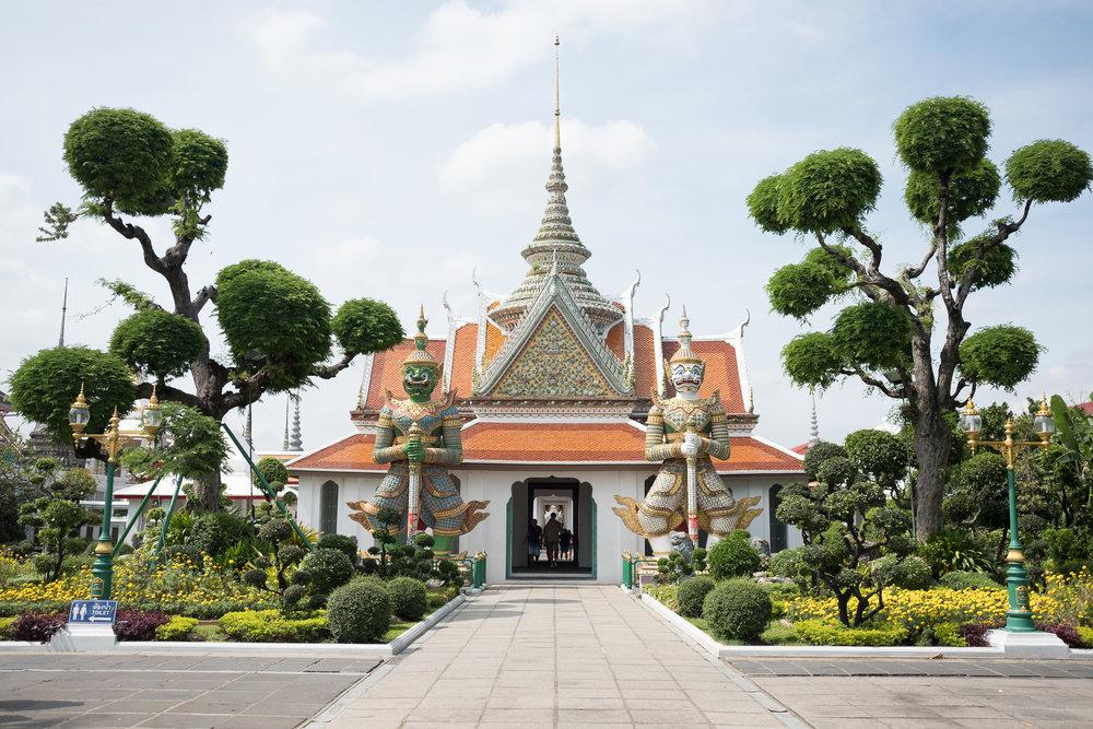 Wat Arun  - Bangkok, Thaïlande.