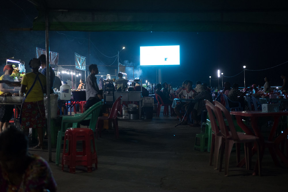 Night Market  - Moulmein, Myanmar.