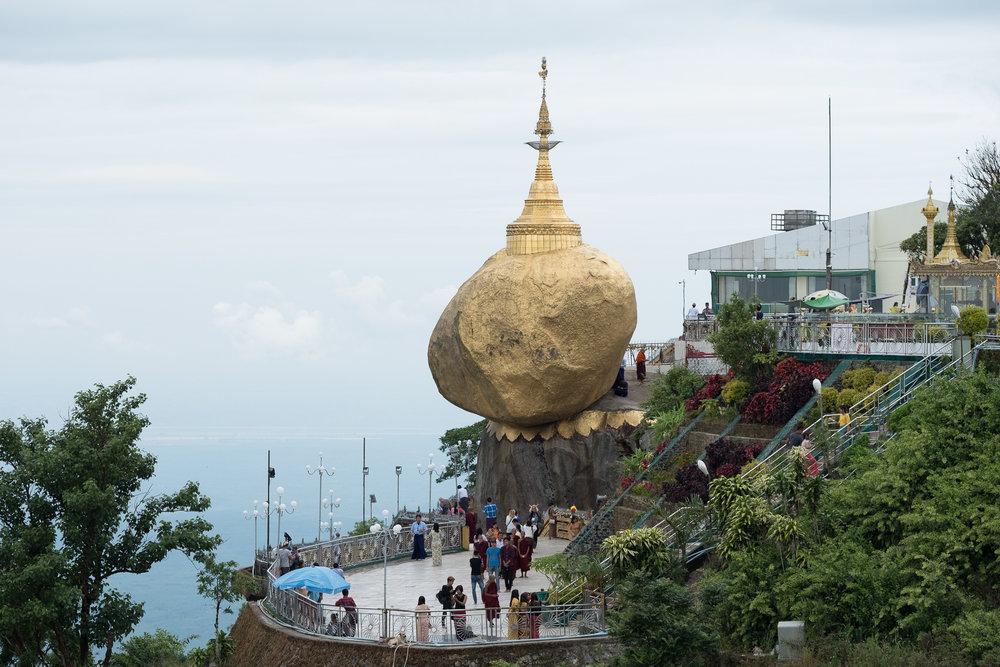 Mont Kyaikto  - Kindun, Myanmar.