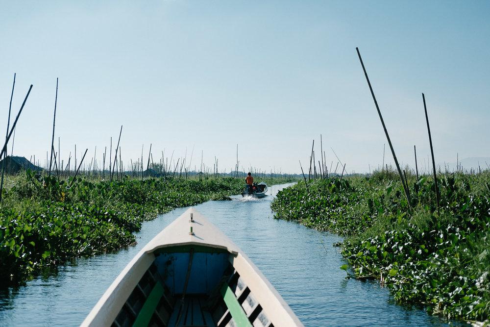 Lac Inle  - Nyaung Shwe, Myanmar.