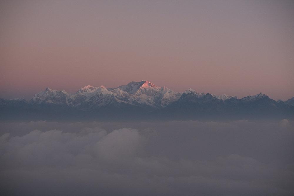 Kangchenjunga   - Darjeeling, India.