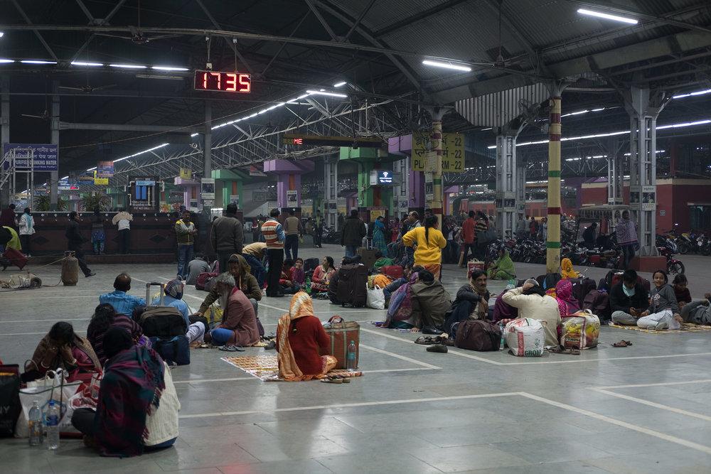 Howrah Station  - Kolkata, India.