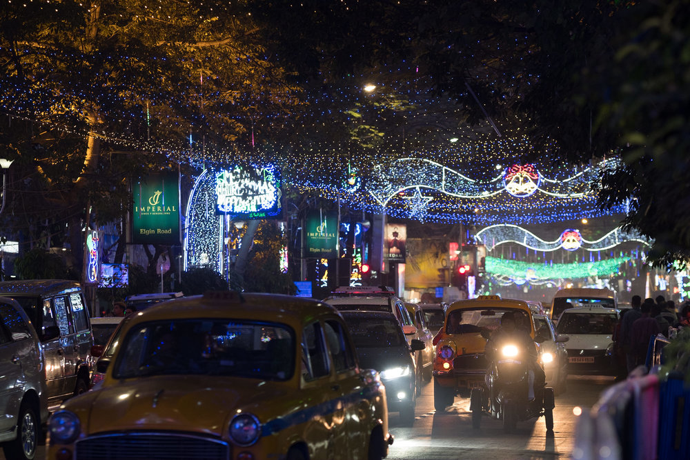 Park Street  - Kolkata, India.