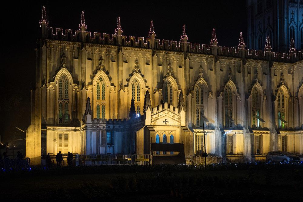 St Paul's Cathedral  - Kolkata, India.