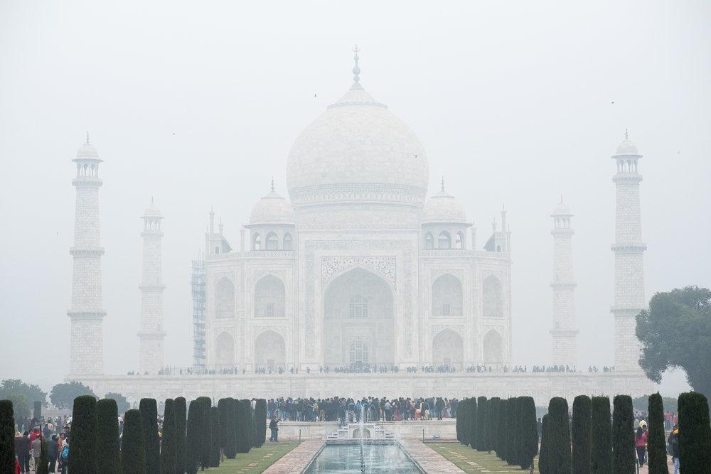 Taj Mahal  - Agra, India.