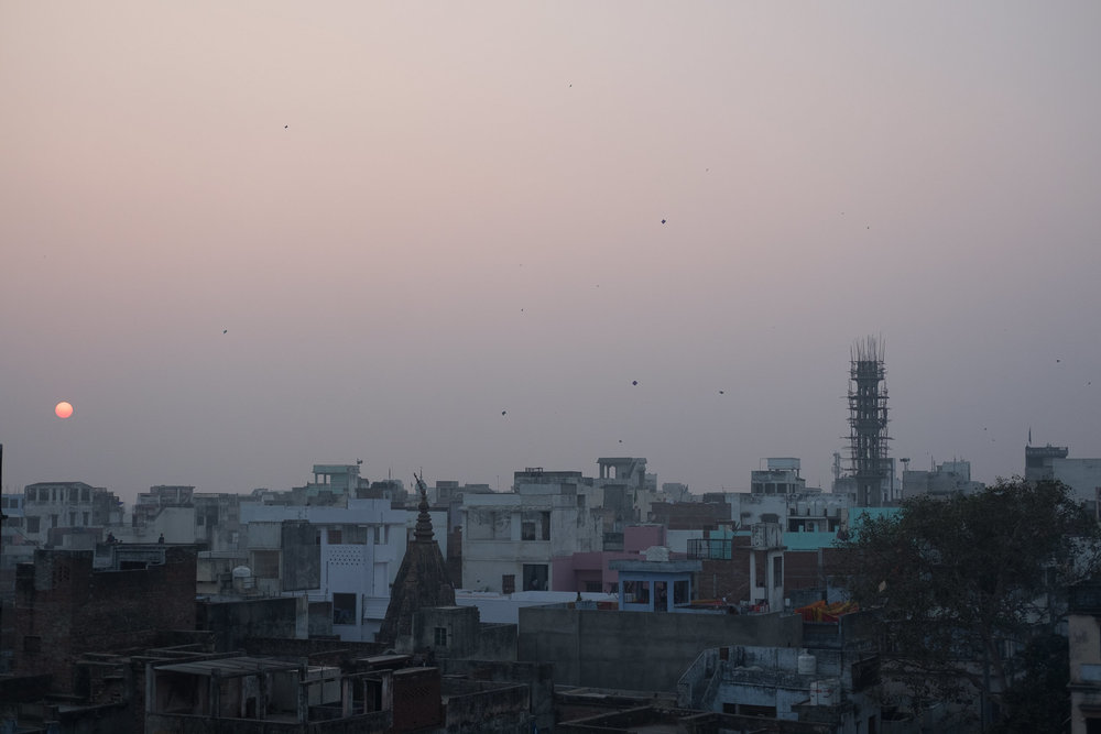 Old City  - Varanasi, India.