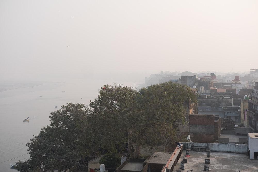 Le Gange  - Varanasi, India.