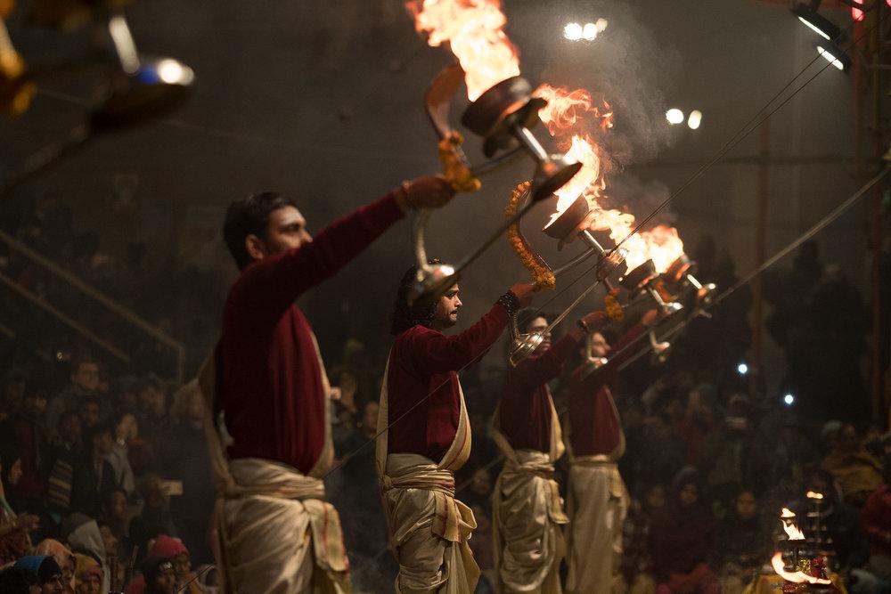 Gaths  - Varanasi, India.