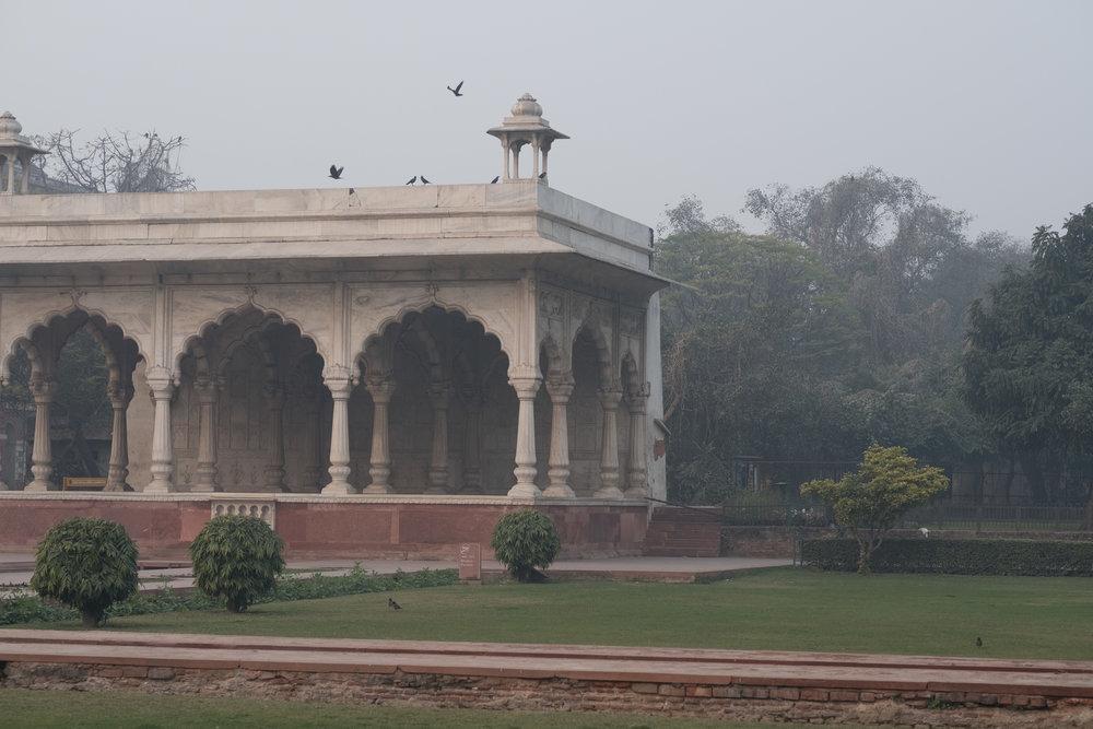 Red Fort  - Delhi, India.