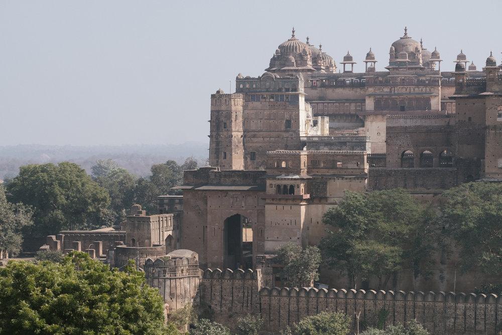 Palais  - Orchhâ, India.