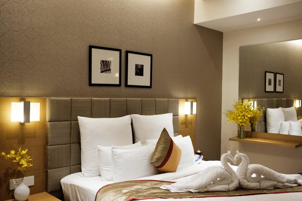 Marygold Hôtel  - Hyderabad, India.